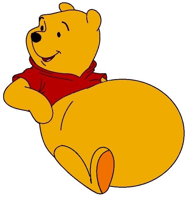 Winnie The Pooh gets fat by FootballLover on DeviantArt