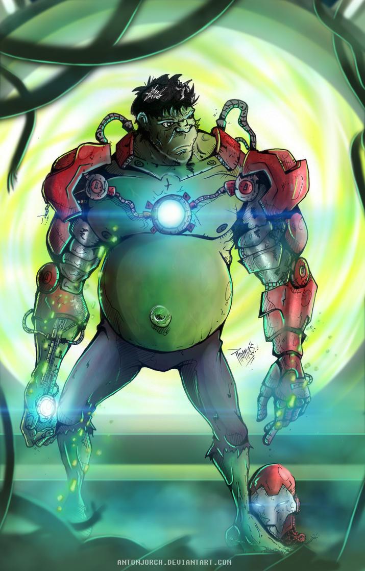 Hulk And Iron Cake Ideas And Designs