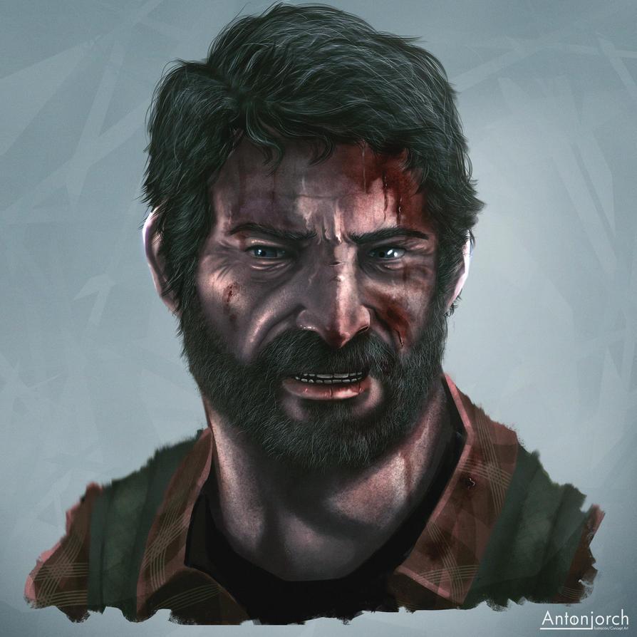 Joel The Last Of Us by antonjorch