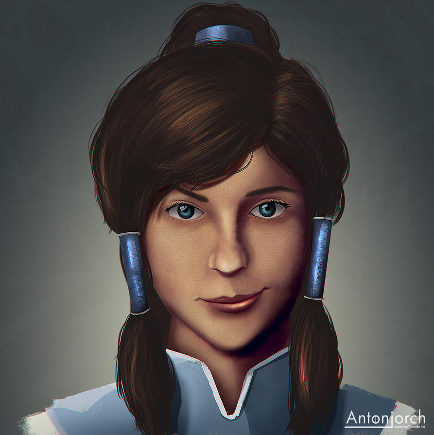 Avatar Korra by antonjorch