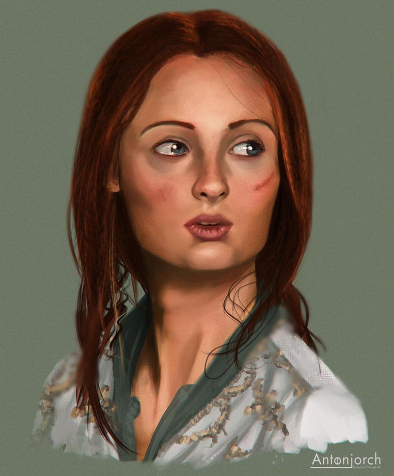 Sansa Study by antonjorch