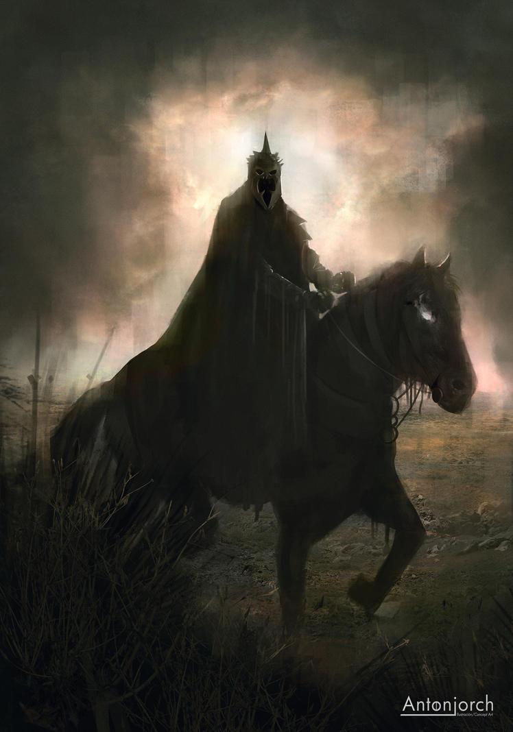 Nazgul King by antonjorch