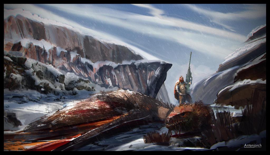 Dragon Hunter by antonjorch
