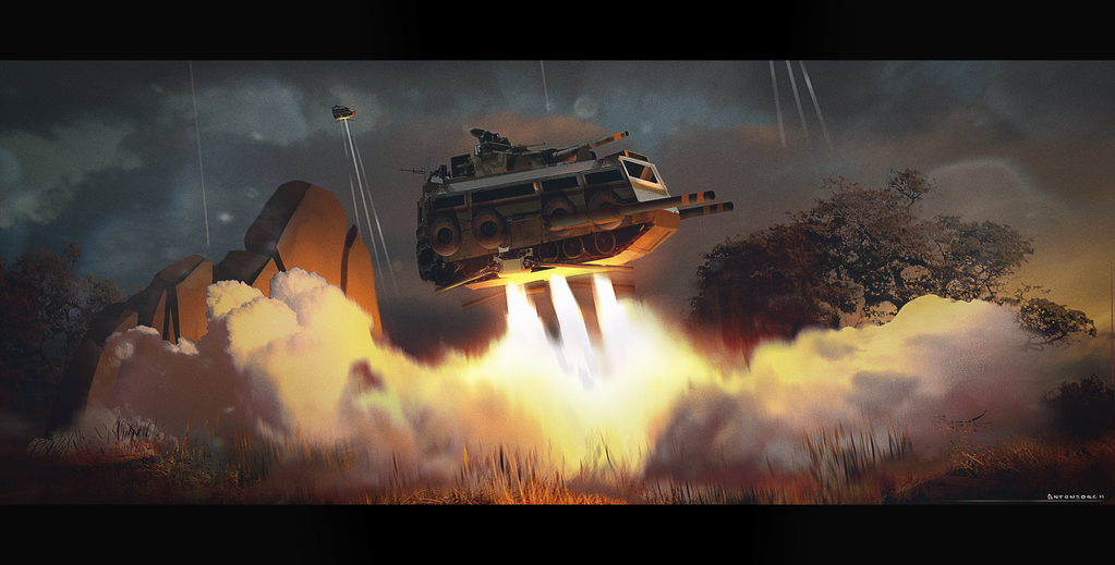 War camping by antonjorch