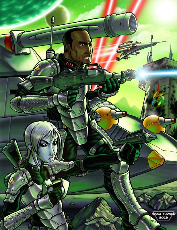 Star Fleet Marines by Adam-Turner
