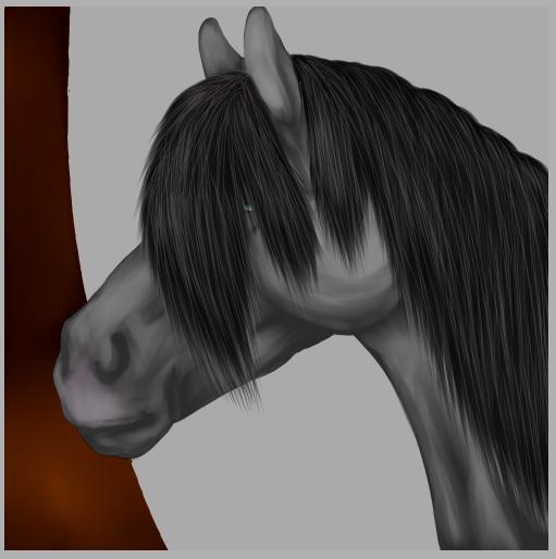 Horse by SaikoSinArt