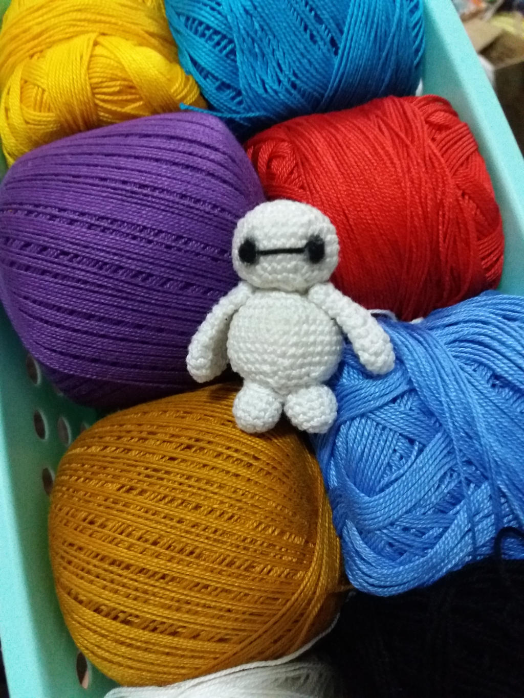 Amigurumi Crochet Baymax by Ysa-chi on DeviantArt