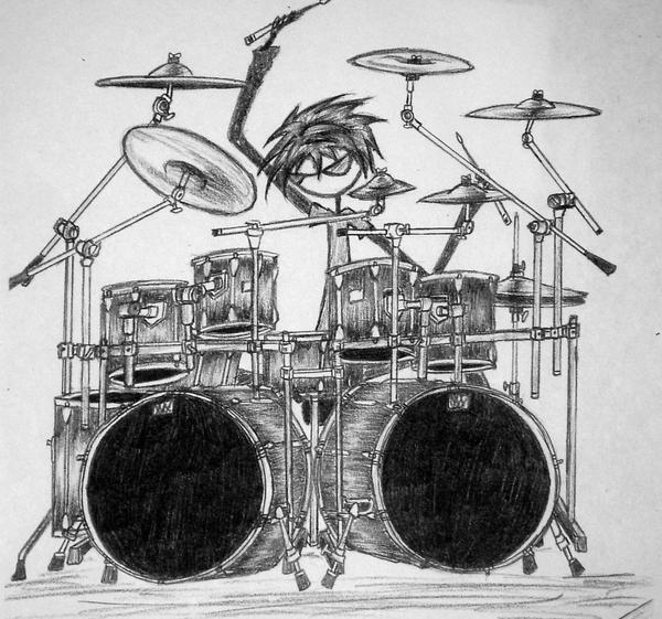 Drumset 2 by KunariKun
