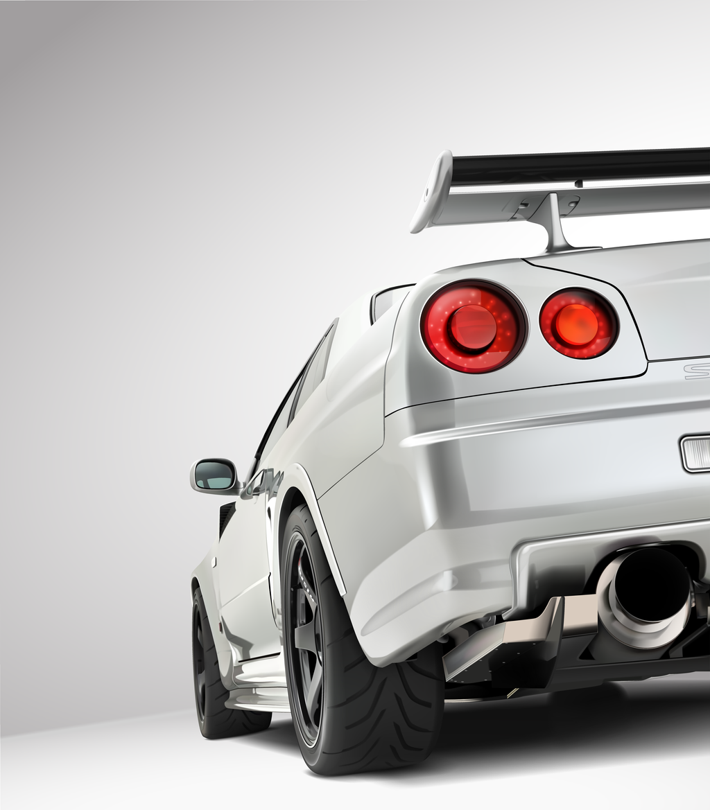 Nissan GT-R R34 Z-Tune by mkmckART
