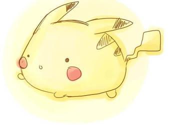 omgsh fat pikachuu by quirkessence
