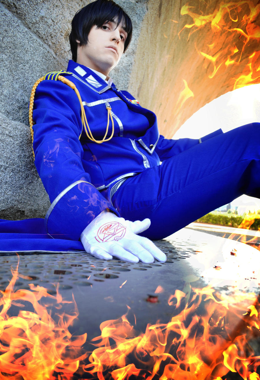 Playing with fire - FullMetal Alchemist by Carlos-Sakata