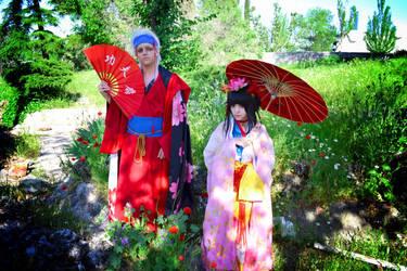 Gate 7 - Sakura and Hana 02 by Carlos-Sakata
