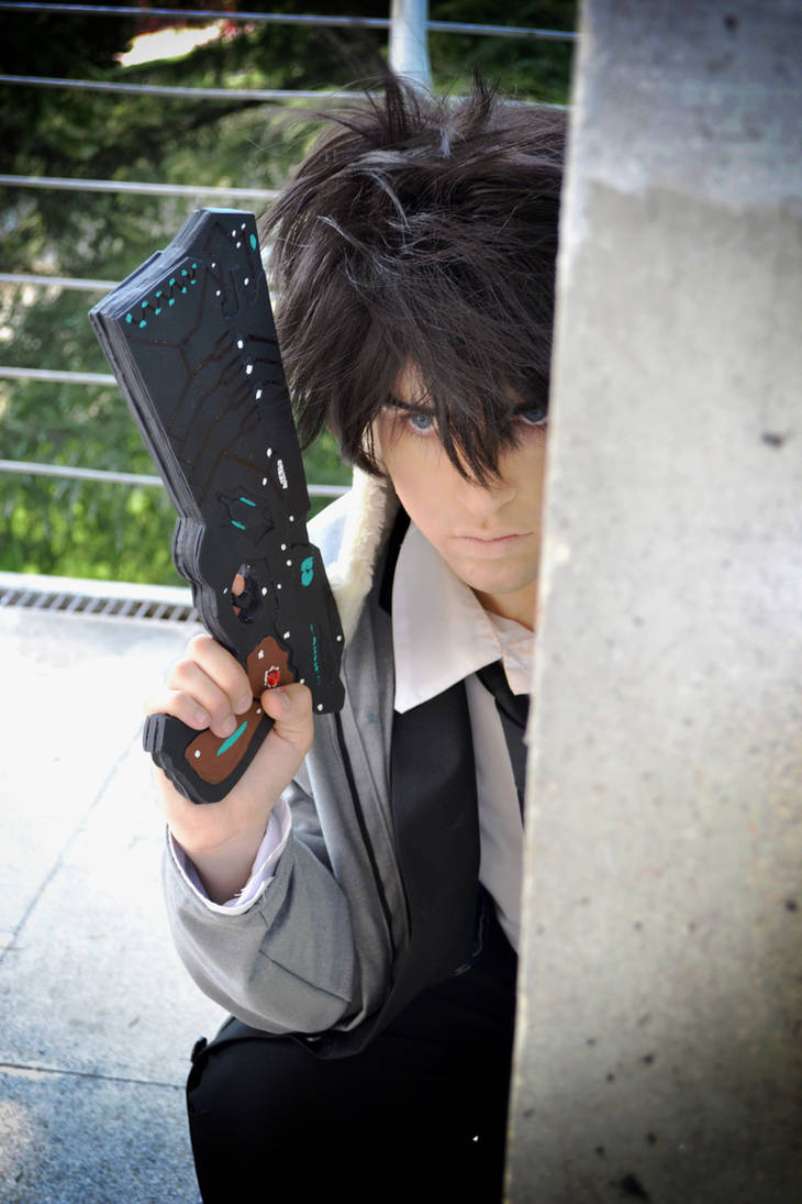 Fight with my obsession - Psycho-Pass by Carlos-Sakata