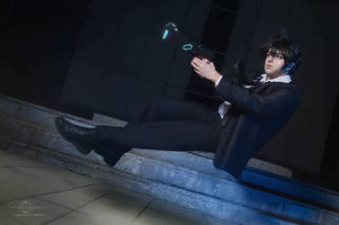 Out of control - Psycho-Pass by Carlos-Sakata