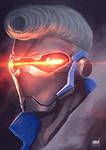 Soldier 76 and New hairstyle