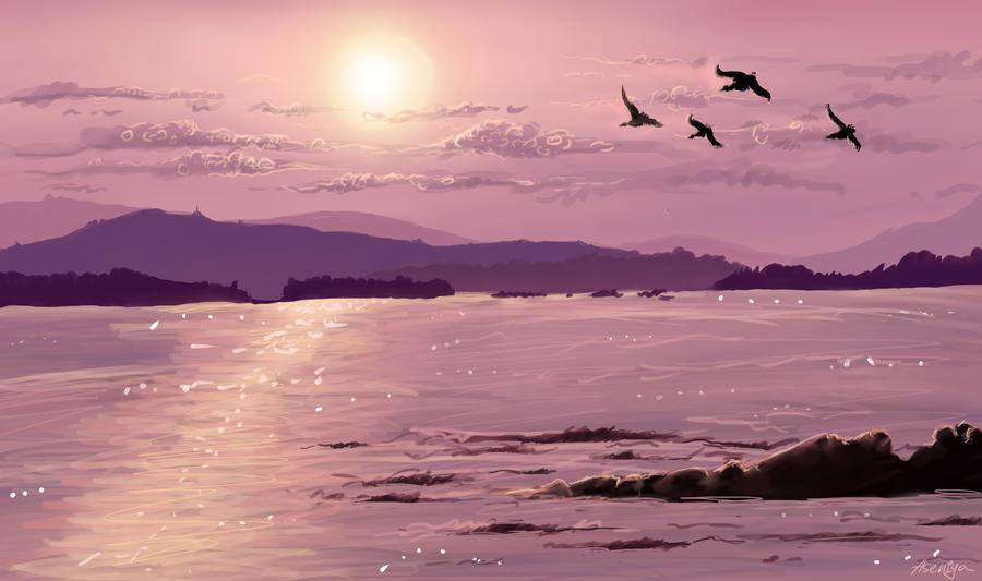 Background by Aseniya