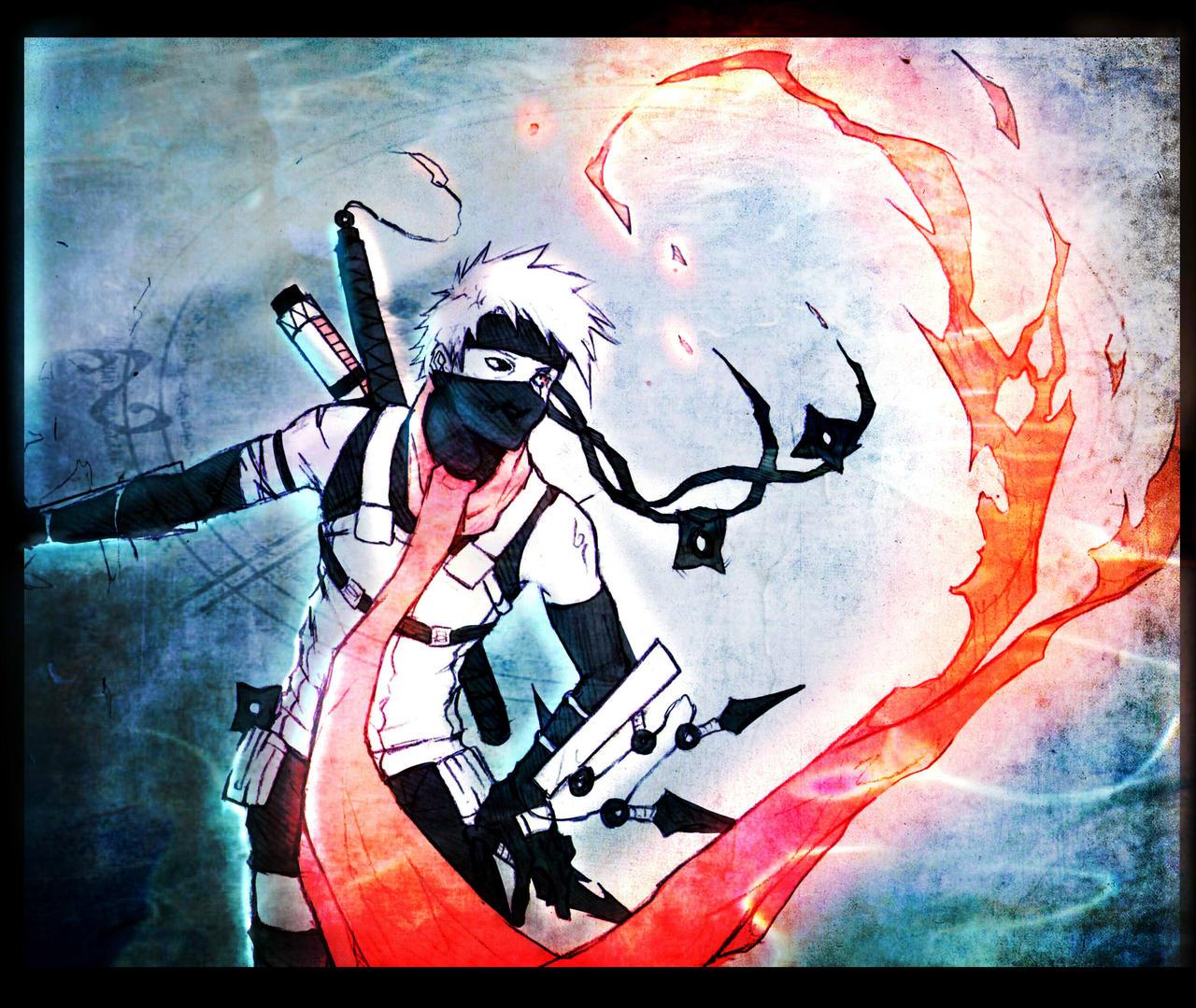+Anbu Kakashi: Flame+ by moni158