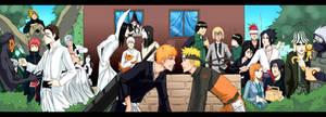 +Naruto Bleach crossover+