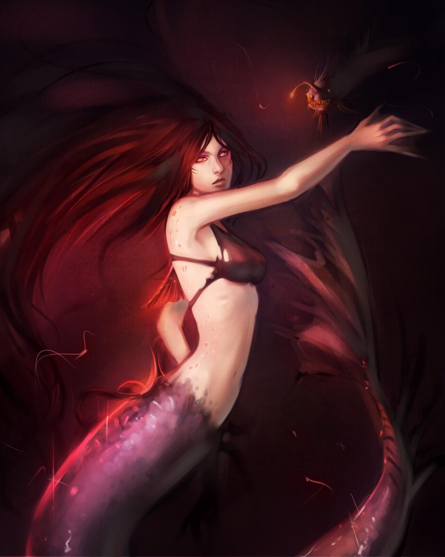 Deep Sea Mermaid by moni158