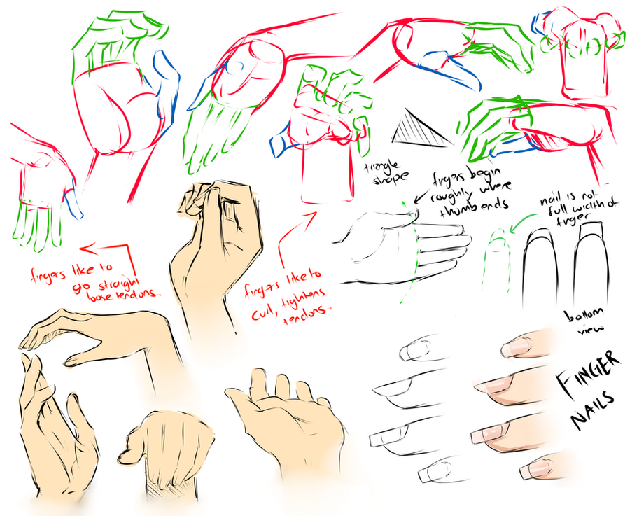 .Hand study. by moni158