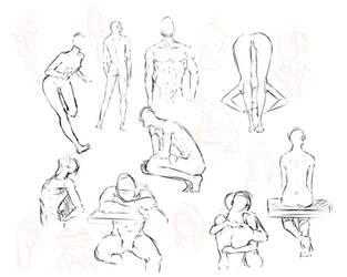 free poses 2 by moni158