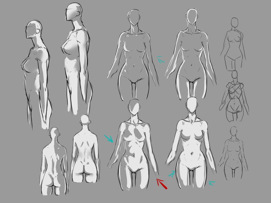female body lighting