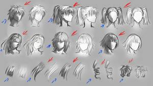 Hair and lighting