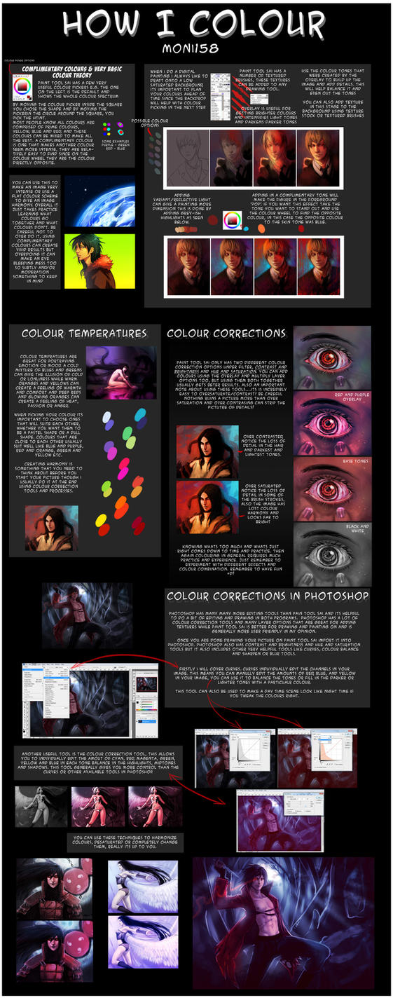 How I Colour by moni158