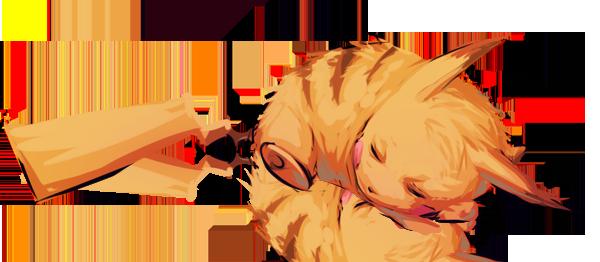 Snoozing Pikachu by moni158