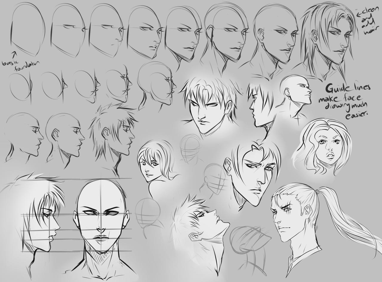 anime male face - HD1280×943