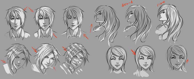 Face lighting practise