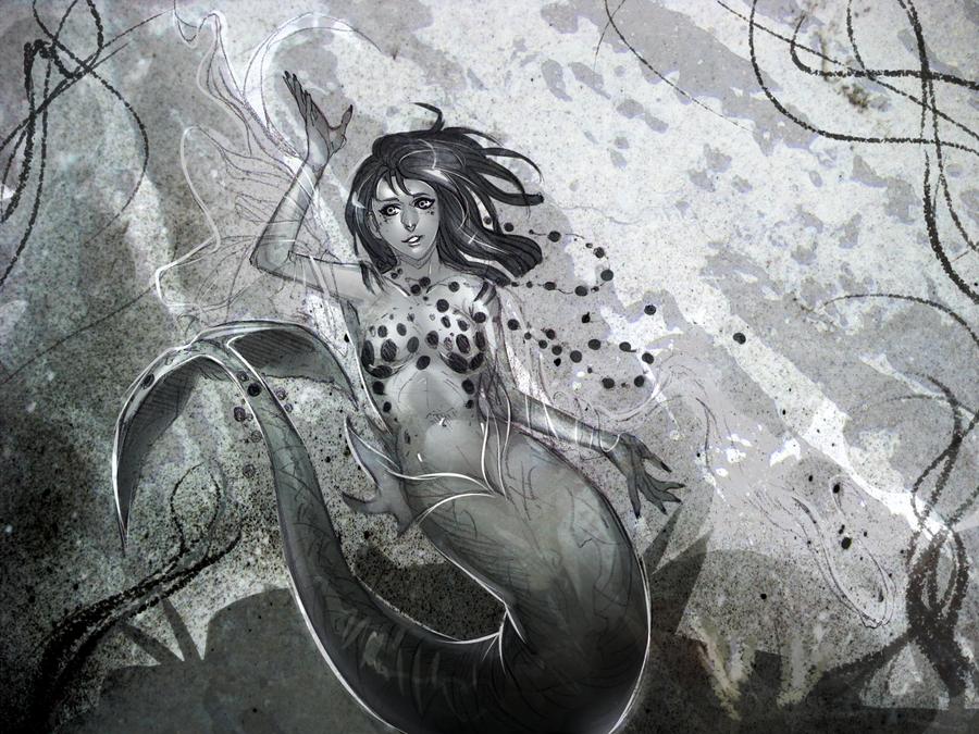 Mermaid. by moni158