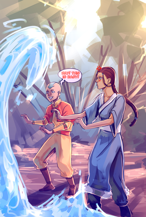 Water Bending is... by moni158