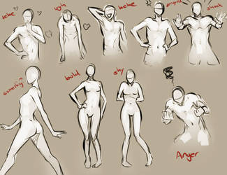 Body Language by moni158