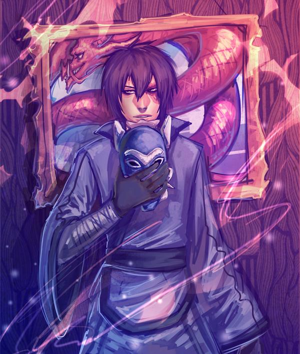 The Blue Spirit by moni158