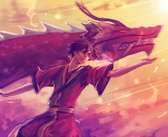 The Dancing Dragon by moni158