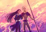 The Avatar's Girl by moni158