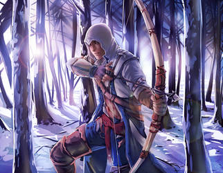 Connor Kenway by moni158