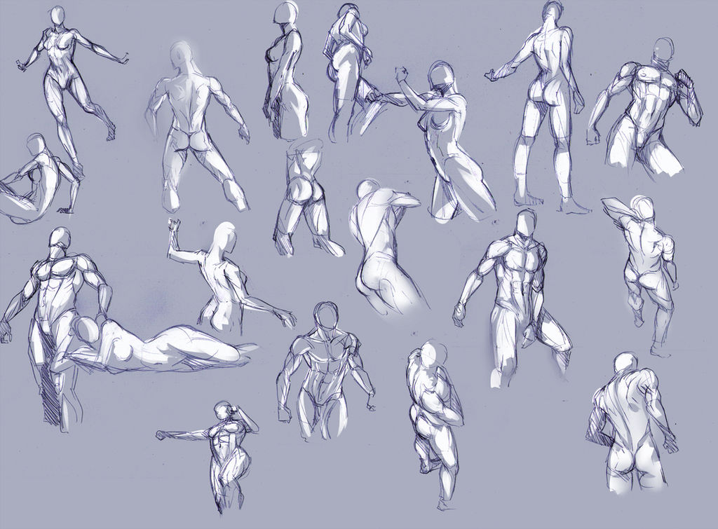 Body sketches...