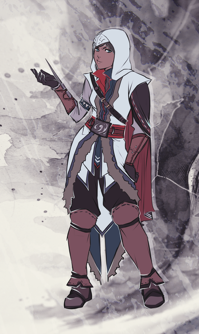 Assassin Korra by moni158
