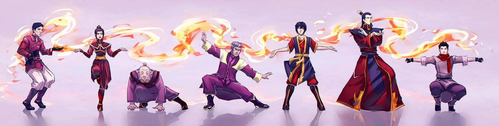 Firebenders: Dancing Dragon