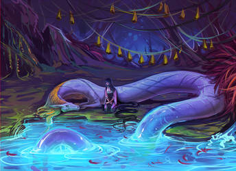 The Wishing Pool by moni158