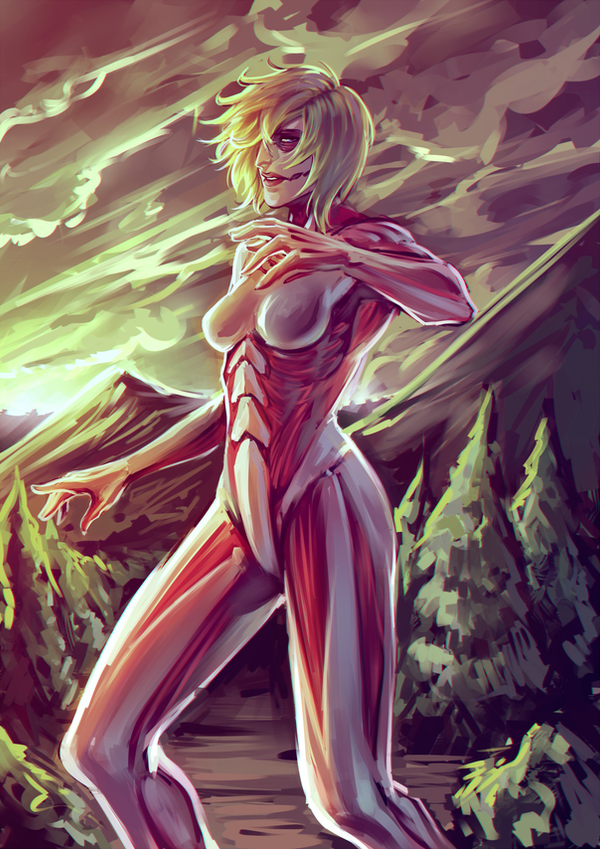 The Female Titan by moni158