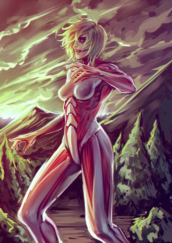 The Female Titan by moni158