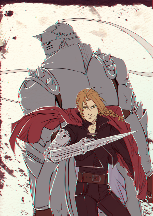 Elric Brothers by moni158