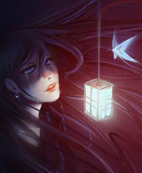 Lantern Light by moni158