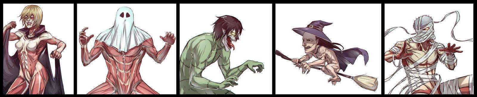 Halloween Titans