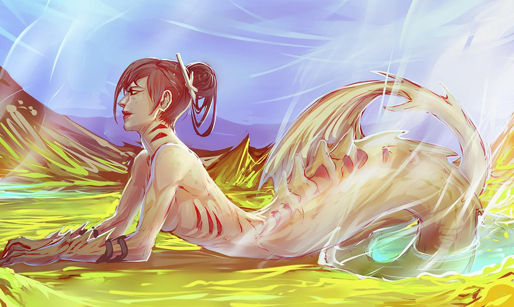 Sulfur Pools by moni158