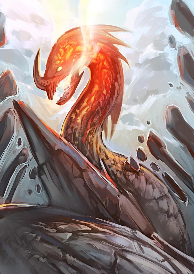Rock Dragon by moni158