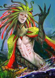 Plant dude by moni158
